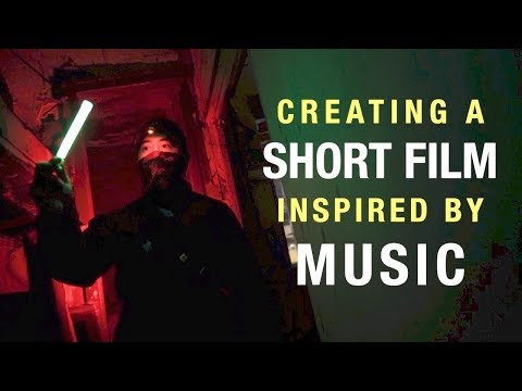 Creating a short film inspired by music