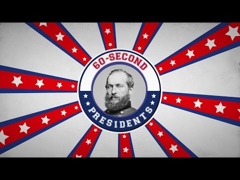 James A. Garfield | 60-Second Presidents | PBS