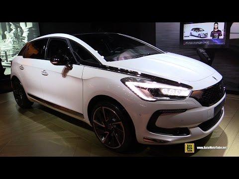 2017 Citroen DS5 Sport Chic 180 Diesel Exterior and Interior Walkaround 2016 Paris Motor Show