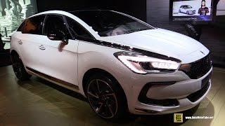 2017 Citroen DS5 Sport Chic 180 Diesel - Exterior and Interior Walkaround - 2016 Paris Motor Show