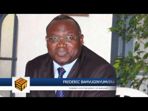 """I Dont Know The Idea Of Burundi About This Government Of Unity"" -Frédéric Bamvuginyumvira"