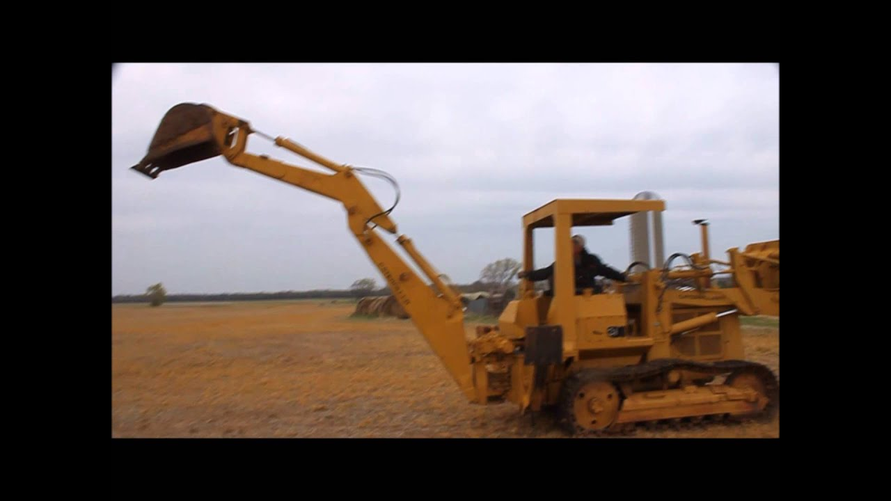 1979 Caterpillar 931 Track Loader With Backhoe Attachment