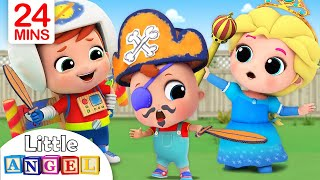 Download This is the Way We Get Ready for Playtime |Little Angel Nursery Rhymes Mp3 and Videos