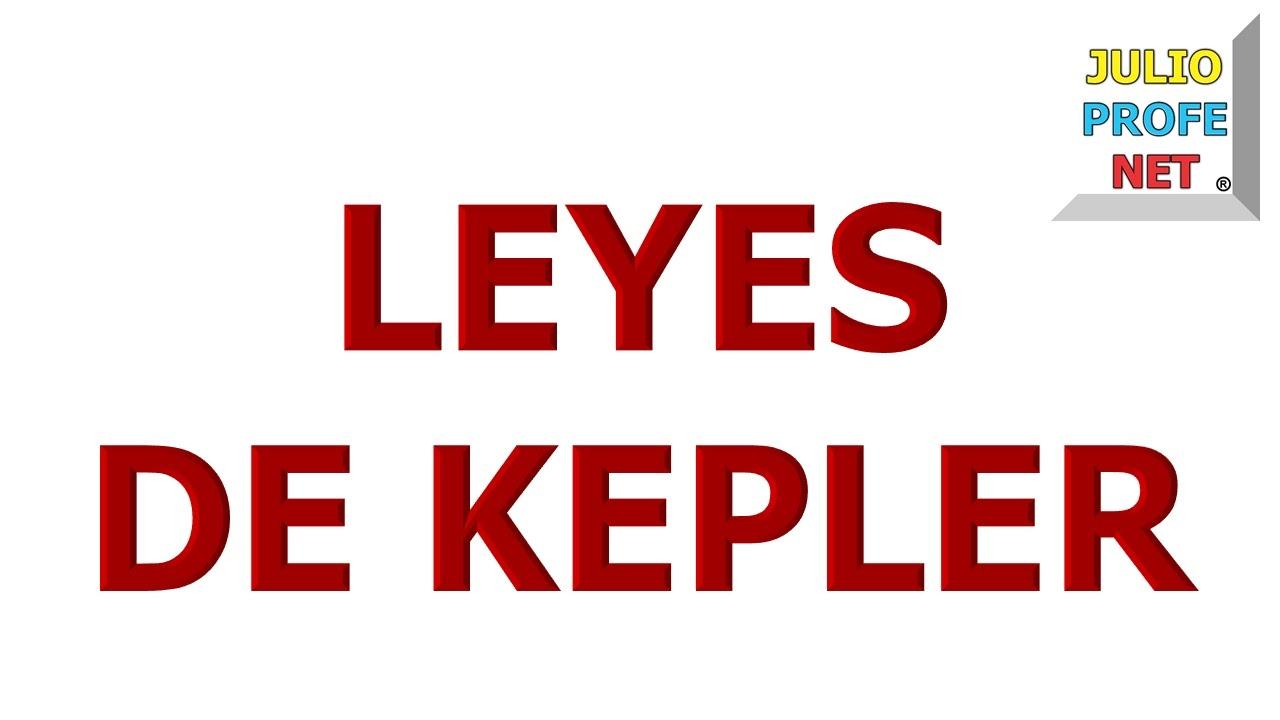 71. LEYES DE KEPLER
