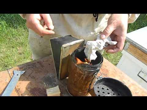 Как и чем разжигать дымарь