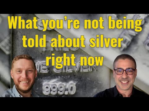What you're not being told about silver RIGHT NOW!