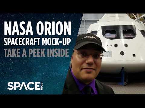 Peek Inside NASA's Orion Spacecraft - Exclusive Tour