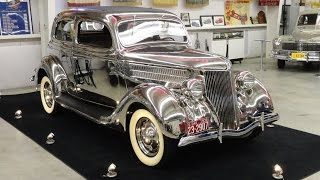 1936 Ford Stainless Steel Tudor Deluxe Touring Sedan Model 68-700 on My Car Story with Lou Costabile
