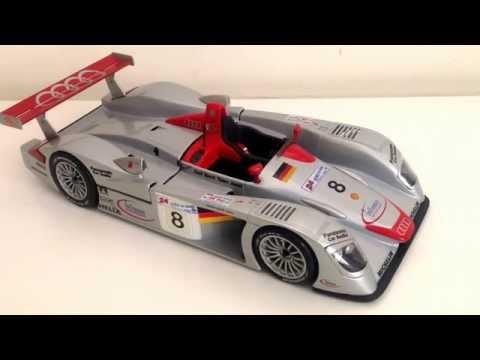 Maisto 1:18 Audi R8 Le Mans winner 2000 1/18