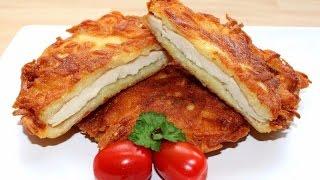 Куриное филе в картофеле . Как приготовить вкусное куриное филе.