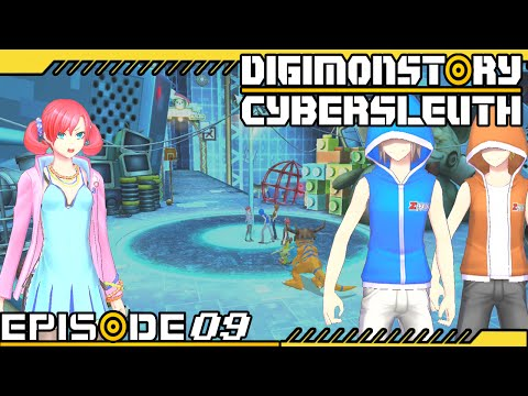 Digimon Story : Cyber Sleuth - Ep 9 : Chapter 3: Digital Monsters + Searching For Agumon & Gabumon!