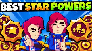 The BEST Star Power for ALL 45 Brawlers! GET THESE FIRST!!
