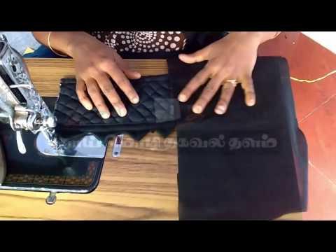 Model blouse cutting and stitching in telugu   Blouse design cutting in telugu