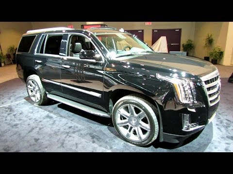 2015 Cadillac Escalade - Exterior and Interior Walkaround - 2014 Toronto Auto ...