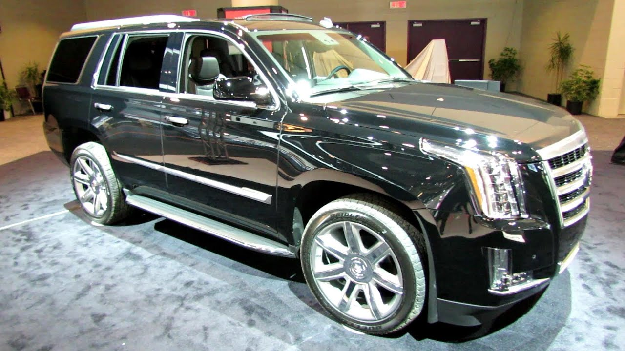 2015 Cadillac Escalade   Exterior And Interior Walkaround   2014 Toronto  Auto Show   YouTube
