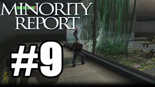 Minority Report W/ Commentary P.9 - NOT THE SPIDERS!!!!