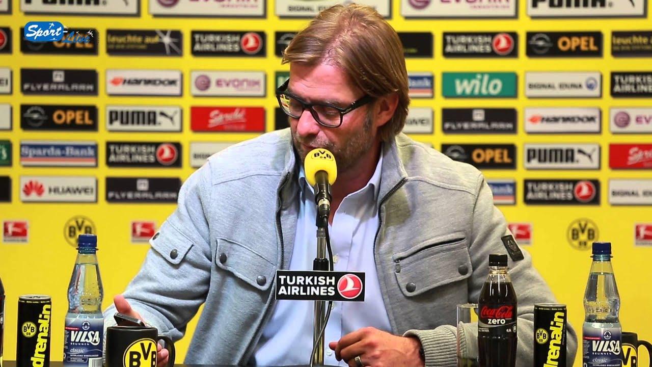 BVB Pressekonferenz vom 26. September 2013 vor dem Spiel Borussia Dortmund gegen den SC Freiburg