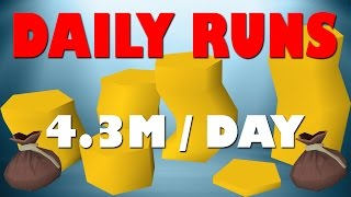 Runescape Daily Guide For Up To 4.3M (Million) GP Every Day! | Runescape 2017 |