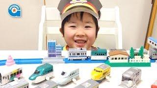 カプセルプラレールの京浜東北線(モーター車)が出ました【がっちゃん4歳】 thumbnail