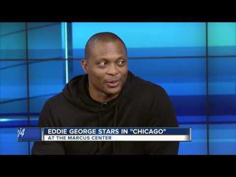 """Eddie George stars in """"Chicago"""""""