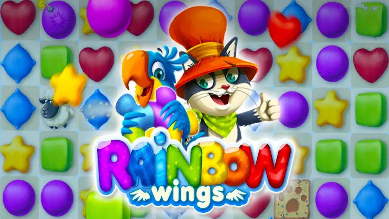 Rainbow Wings Android Gameplay u1d34u1d30