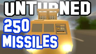 250 MISSILES IN THE CEBERUS! Unturned Changing The Code!