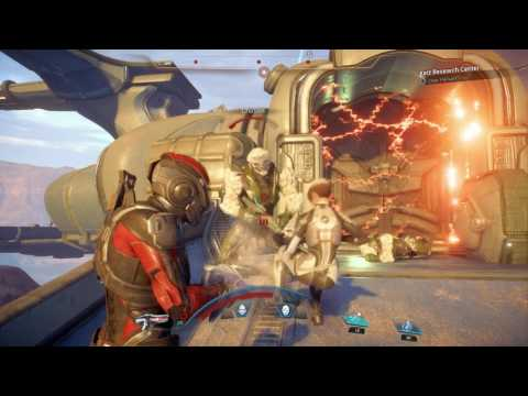 Mass Effect Andromeda Clear the Kett at the Research Centre Third Remnant Monolith Site