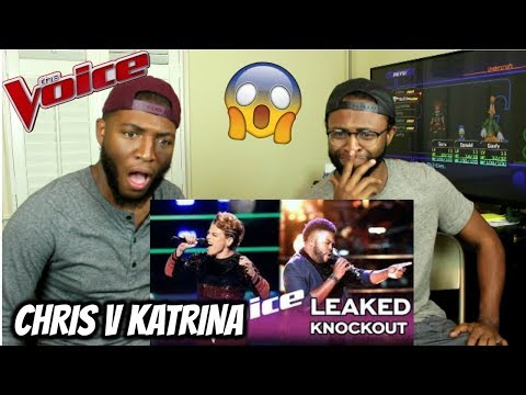 The Voice 2017 - The Knockouts: Chris Weaver Vs. Katrina Rose (REACTION GONE WRONG)
