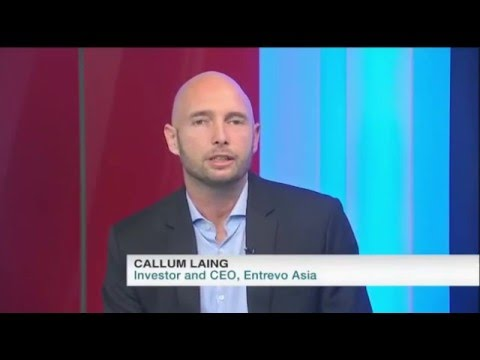 Tonight Show on Channel News Asia. Entrepreneurship Interview with Callum Laing