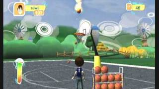 Wii Workouts - Jumpstart Get Moving Family Fitness for Wii - Basketball