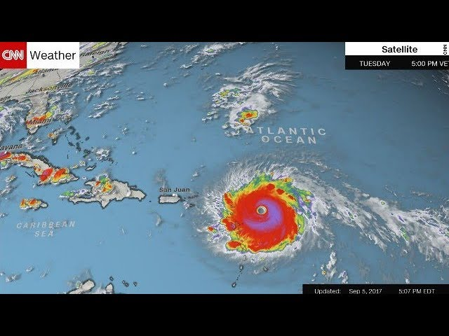 Category 5 Hurricane Irma a buzzsaw churning toward Florida