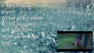 Baarish Yaariyan Full Song--Lyrics