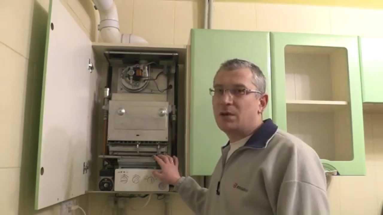 Датчик давления газового котла. - YouTube