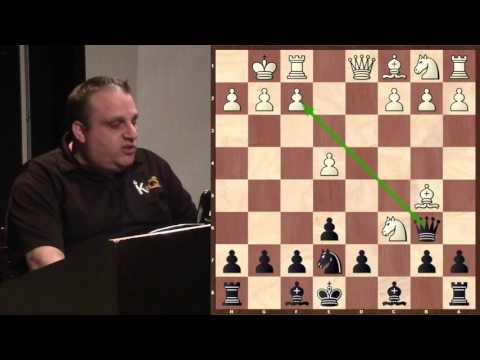 Club Championship Middlegame (vs. Matt Barrett) - GM Ben Finegold