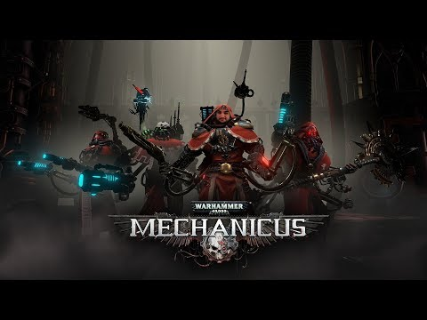 [18+] СТРИМ 8 Warhammer 40k: Mechanicus - DLC Heretek (PC, 2019)