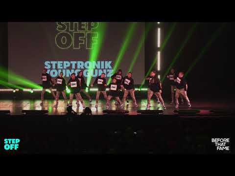 Steptronik Young Gunz (WIDE VIEW) | Step Off 2018 | Young Guns Division