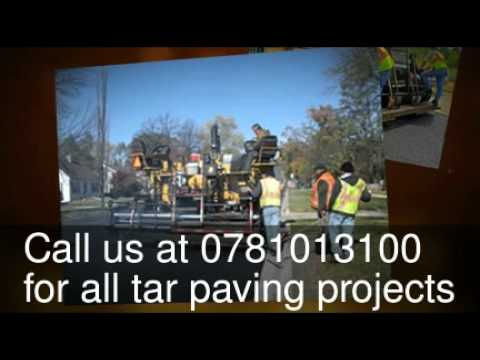 Tar paving Pretoria, Tar surfacing, Tar surfaces Pretoria