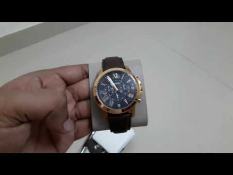 e7d3a1027 Unboxing my new Fossil FS5068 watch. - YouTube