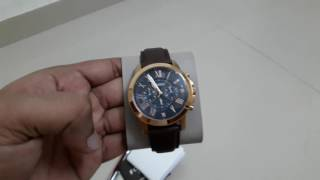 Unboxing my new Fossil FS5068 watch.