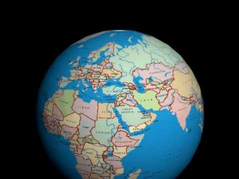 Rotating globeavi youtube rotating globeavi gumiabroncs Images