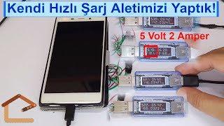 🔋🔌 Hızlı Şarj Aleti Projesi (QuickCharge 1.0 - 5V 2A) Kendin Yap #4