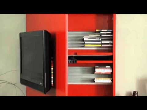 ... Box - mobile porta tv orientabile - loriginale by Fimar - YouTube