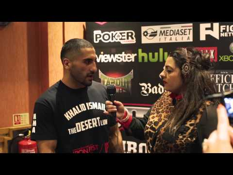 Khalid Ismail - UCMMA 36 interview (5th October 2013)