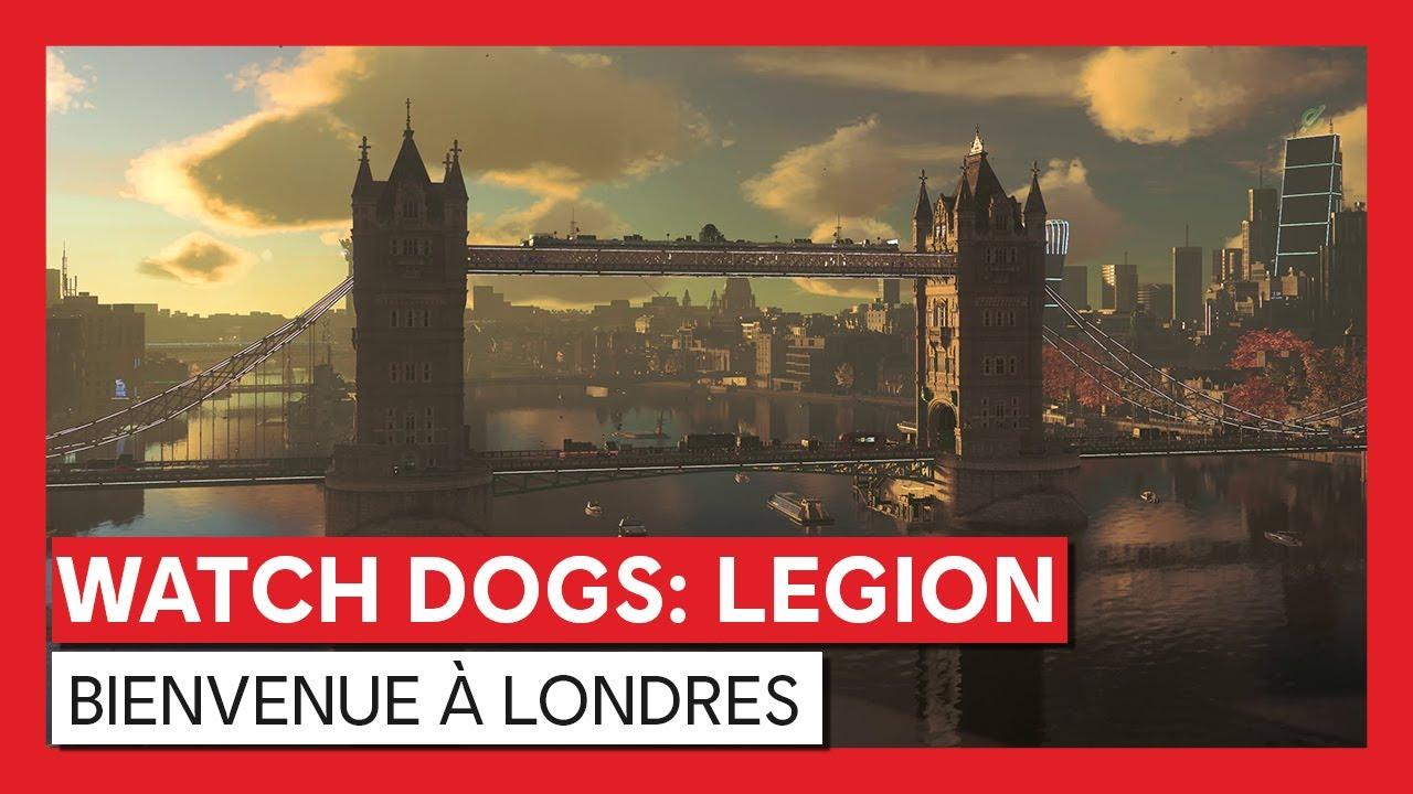 Watch Dogs : Legion - Trailer Bienvenue à Londres | Powered by NVIDIA GeForce RTXVOSTFR