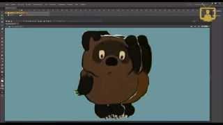 Растровая анимация. Adobe Flash. / VideoForMe - видео уроки(Как работать с растровыми персонажами и с растровой графикой в программе Adobe Flash. http://videoforme.ru/course/kursy-animacii..., 2015-05-13T12:45:35.000Z)