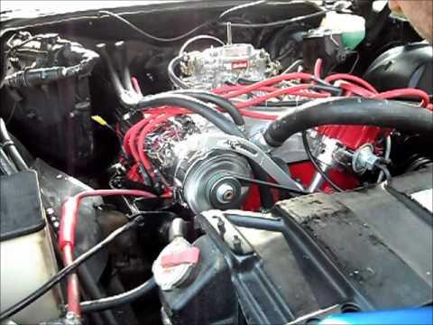 1971 Buick Riviera 455ci engine rebuild start up - YouTube