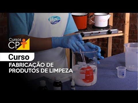 Clique e veja o vídeo Curso Fabricação de Produtos de Limpeza
