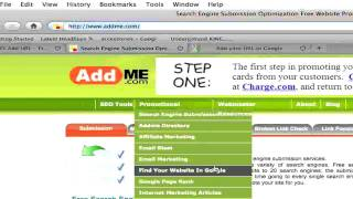 How to submit your website to search engines for FREE