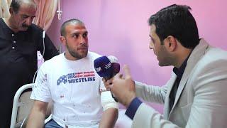 شاهد.. أحد ضحايا عملية الطعن في الأردن يكشف التفاصيل لمراسل الحدث