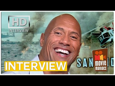 San Andreas | Dwayne Johnson on his survival skills and bravest role (Interview)